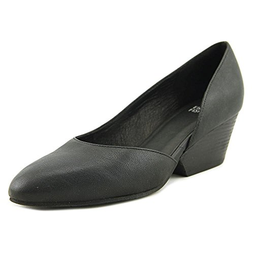 Lily Mules Leather Almond Womens Washed Black Toe Eileen Leather Fisher wxPFqER
