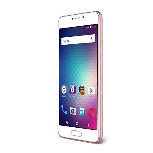 "BLU Studio Max -5.5"" 4G LTE Unlocked Smartphone - 16GB+2GB RAM -Rose Gold"