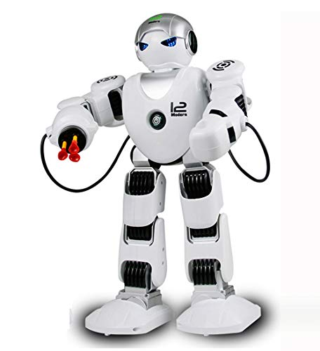 Yeezee 2.4Ghz RC Robot for Kids, Official Store Alpha Robot- Dancing, Battling Electronic Remote Control Robots for Kids ()