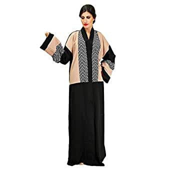 Larimar Multi Color Casual Abaya For Women