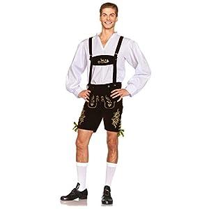 Leg Avenue Men's 3 Piece Oktoberfest Lederhosen Costume