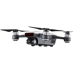 DJI Spark Intelligent Portable Mini Drone Quadcopter, Fly More Combo, with MUST HAVE ACCESSORIES, 2 Batteries, 64 GB SD Card from DJI