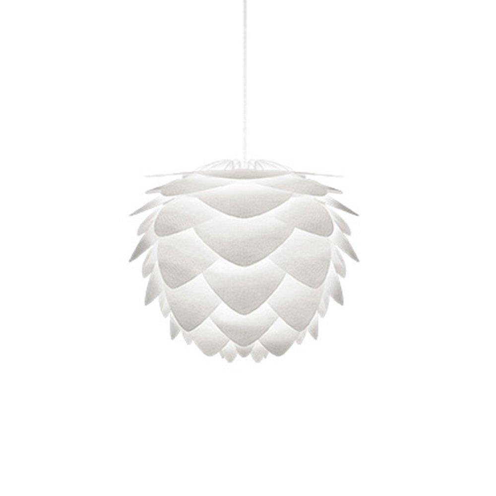 1灯ペンダントライト(電球別売ソケット付) SILVIA mini create (1灯/ホワイトコード) ホワイト 02100-WH VITA COPENHAGEN 02100-WH B07B3866BF 1灯ペンダントライト