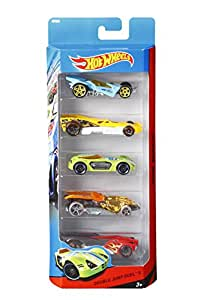 Amazon.com: Hot Wheels Assortment Cars, 5 Count: Toys & Games