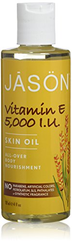 JASON Vitamin E 5,000 IU All Over Body Nourishment Oil, 4 oz.