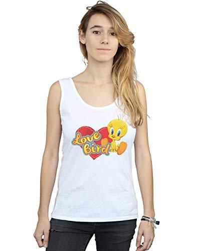Tweety Canotta Looney Valentino San Femme Blanc Tunes Love Pie Absolute Cult Bird x6vqII