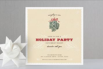 Amazon Com Naughty Or Nice Holiday Party Invitations By Racha