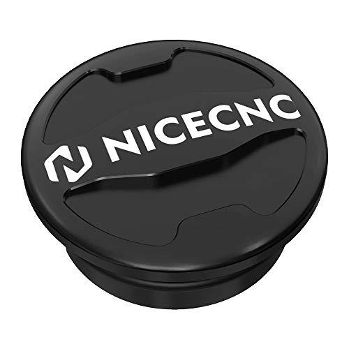 NICECNC Black Swing Arm Bolt Push-On Cap Frame Cover Compatibel met Yamaha Raptor 700 700R YFM700 YFM700R 2006-2020