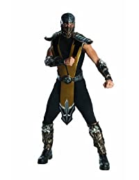 Rubies Costume Mortal Kombat Scorpion Adult, One Size
