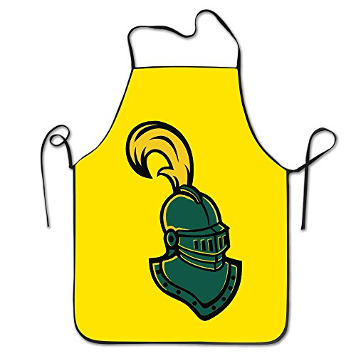 [Clarkson Golden Knights Logo Kitchen Crafting Apron] (Best Mark Of The Ninja Costume)