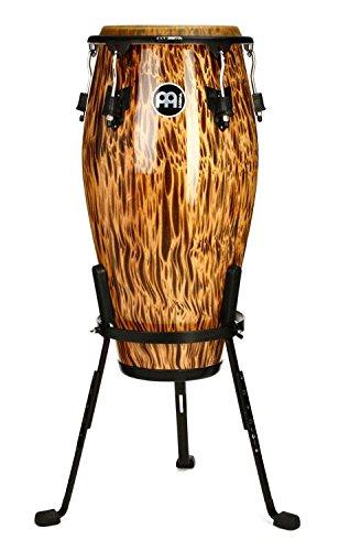 Meinl Percussion MCC11LB Marathon Classic Designer Series 11-Inch Quinto, Leopard Burl by Meinl Percussion