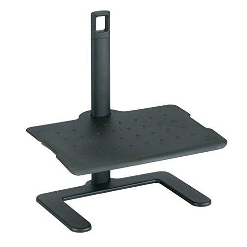 - Safco Products 2129BL Adjustable Footrest, Black