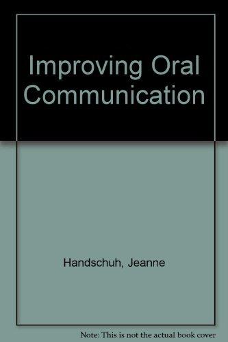 Improving Oral Communication: A Pronunciation Oral-Communication Manual