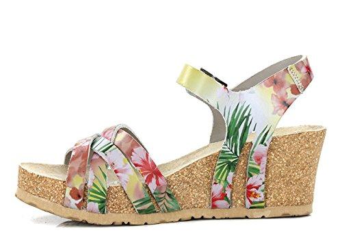 LANNY Nu Pink Femme MEPHISTO pieds Sandales R86AcwqpK