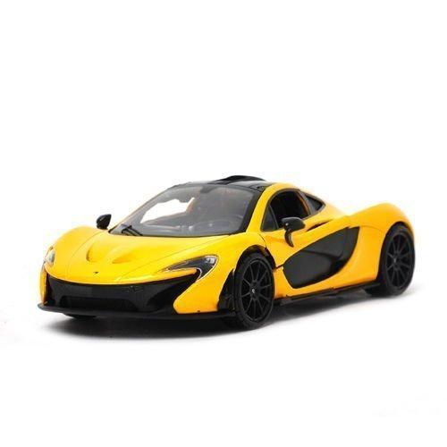 Motor Max 1:24 W/B Mclaren P1 Diecast Vehicle, Yellow