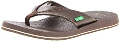 Amazon.com   Sanuk Men's Beer Cozy Flip-Flop   Sandals