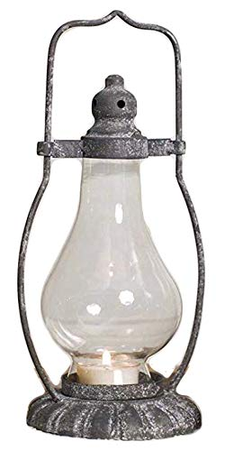 Petite Monroe Tea Light Candle Lantern, 10 Inches Tall