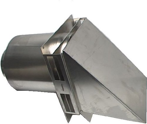 Tjernlund VH1-6 6'' Aluminum Hood for Sidewall Vent Terminations