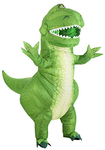 Toy Story Rex Inflatable Adult Costume Standard Green