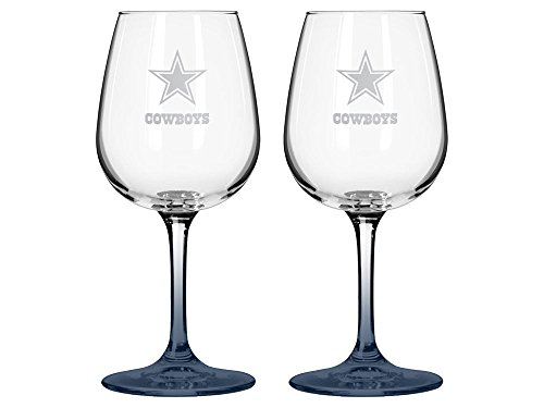 Boelter NFL Dallas Cowboys Wine Glass (2-Pack)