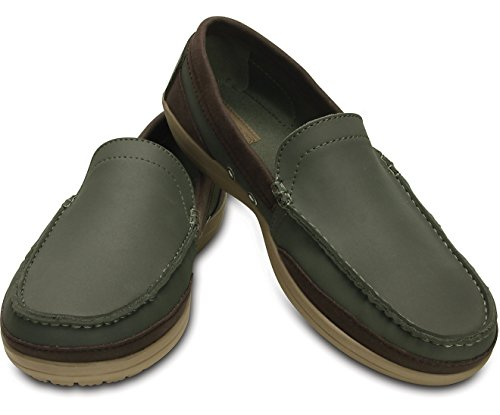 Crocs Wrap Colorite Loafer M dusty olive/tumbleweed Herren M13