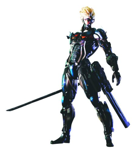 Square Enix Raiden Metal Gear Rising: Revengeance Play Arts -Kai (Solid Snake Square Enix)