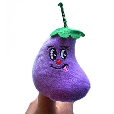 Amazon.com: Limpieza de muñecas de dedo, 10 piezas de frutas ...