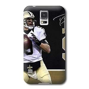 S5 Case, NFL - Drew Brees Action Shot New Orleans Saints - Samsung Galaxy S5 Case - High Quality PC Case