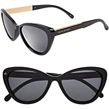 "PRIVÉ REVAUX ICON Collection ""The Hepburn"" Designer Polarized Retro Cat-Eye Sunglasses"