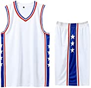 Big Boys Space Movie Jersey Basketball Jersey Mens Tracksuit Training Suits