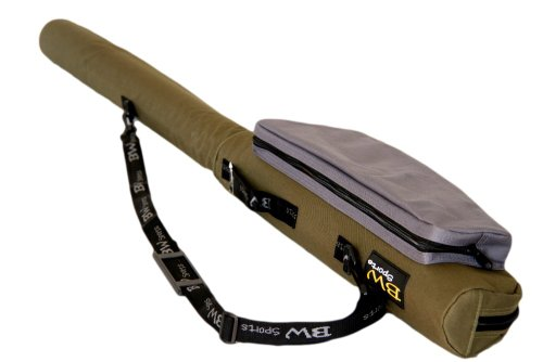 BW Sports Spinning Rod & Reel Case for 10.5 Ft. Spinning Rods - RC-5105