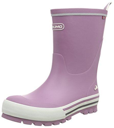 Viking Unisex-Kinder Jolly Gummistiefel Pink (Dark Pink 39)