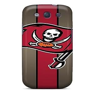 Best-phone-covers Galaxy S3 Shock-Absorbing Cell-phone Hard Cover Custom Lifelike Tampa Bay Buccaneers Series [dWV23527TeGg]