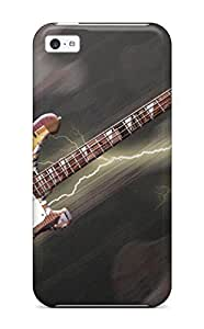 Brand New 5c Defender Case For Iphone (guitar)