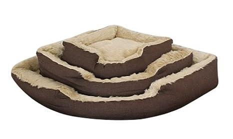 Campale Esquina Cama para Perros Ronaldo Perros Cesta Dormir Espacio Perro Cama cojín dreieckbett Triangular: Amazon.es: Productos para mascotas