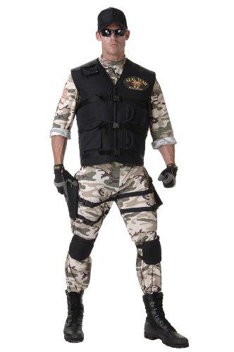 Seal Team Adult - Standard (Seal Costume For Adults)
