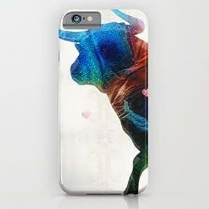 Bull 1. Case For Iphone 6 Plus (5.5 Inch) Cover Case by Bryan Gallardo