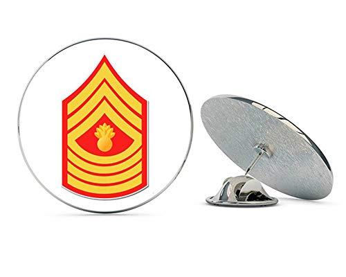NYC Jewelers USMC E Mgys Master Gunnery Sergeant Rank Metal 0.75