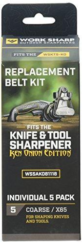 (Work Sharp WSSAKO81118 Coarse Grit Belt Kit)