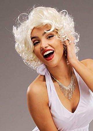 Perruque Femme Marilyn Monroe Blonde Blond: