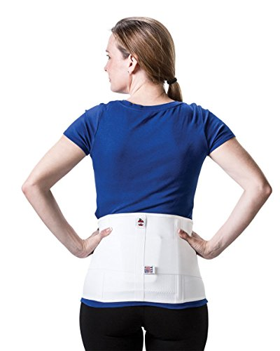 Triple Pull Elastic Lumbosacral Belt Size: Medium, Accessory: Pad by Core Products