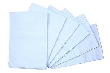 Birdseye Flatfold Pañales de tela, 6 Count