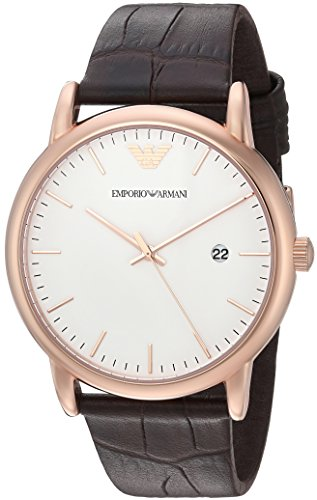 Emporio-Armani-Mens-AR2502-Dress-Brown-Leather-Watch