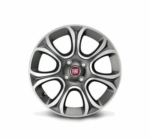 Fiat Grande Punto/PUNTO EVO luz para llantas de aleación/borde de 16 pulgadas: Amazon.es: Coche y moto