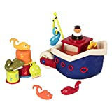Fish and Splish Bath Toy, 13 Piece Play Set