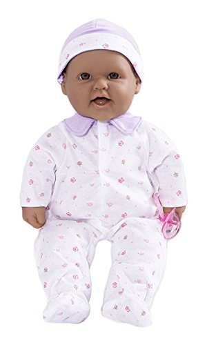 JC Toys La Baby Hispanic 16-inch Washable Soft Body Blue Play Doll