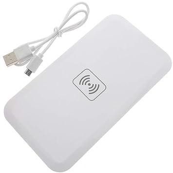Cablematic - Cargador inalámbrico por inducción Qi USB ...