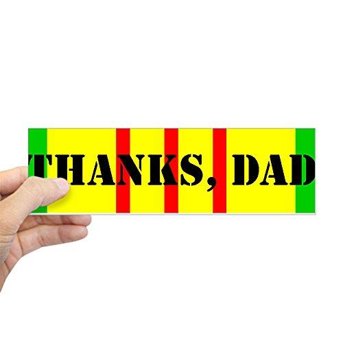 CafePress - My Dad is a Vietnam Vet (i) Bumper Sticker - 10
