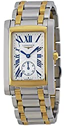 Longines DolceVita Silver Dial 18Kt Yellow Gold Ladies Watch L5.655.5.70.7