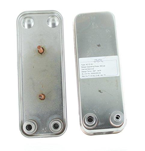 Alfa Laval AC10-16 Brazed Plate Heat Exchanger for 650 PSI Refrigerant